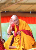 LEH, INDIA - AUGUST 5, 2012: His Holiness the 14th Royalty Free Stock Image