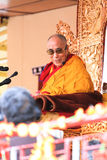 LEH, INDIA - AUGUST 5, 2012: His Holiness the 14th Stock Images