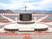 LEH, INDIA - 27 GIUGNO 2018:: Hall of fame, memoriale di guerra in Leh fotografia stock libera da diritti