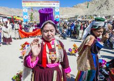 The Ladakh festival 2017 Royalty Free Stock Image
