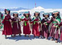 The Ladakh festival 2017 Royalty Free Stock Photo