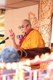 LEH INDIEN - AUGUSTI 5, 2012: Hans helighet 14th Royaltyfri Fotografi
