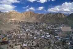 Leh - Kapitaal van Ladakh Royalty-vrije Stock Afbeelding