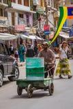 LEH, LA INDIA 4 DE SEPTIEMBRE: Ladakh People4, 2011 en Leh, la India En Fotos de archivo libres de regalías