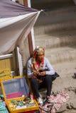 LEH, LA INDIA 4 DE SEPTIEMBRE: Ladakh People4, 2011 en Leh, la India En Fotos de archivo