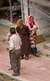 LEH, LA INDIA 4 DE SEPTIEMBRE: Ladakh People4, 2011 en Leh, la India En Fotografía de archivo libre de regalías