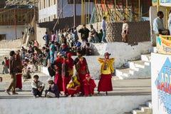 LEH, LA INDIA 5 DE SEPTIEMBRE: Ladakh People5, 2011 en Leh, la India En Fotos de archivo libres de regalías