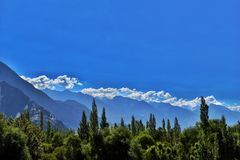 Leh, Ladakh Foto de Stock Royalty Free