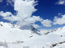 Leh-Ladakh autostrady scena Fotografia Royalty Free