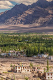 Leh in Ladakh. The far Norther part of India Stock Photos