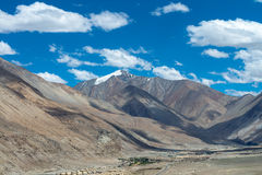 Leh Ladakh highway in Himalayas Aug 2017 Stock Images