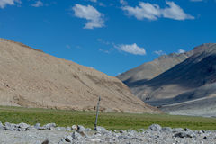 Leh Ladakh highway in Himalayas Aug 2017 Stock Photography