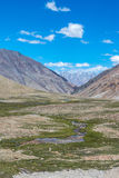 Leh Ladakh highway in Himalayas Aug 2017 Royalty Free Stock Photography