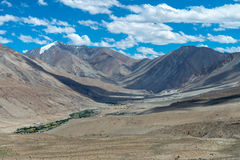Leh Ladakh highway in Himalayas Aug 2017 Royalty Free Stock Image