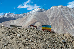 Leh Ladakh highway in Himalayas Aug 2017 Stock Image