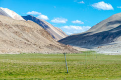 Leh Ladakh highway in Himalayas Aug 2017 Royalty Free Stock Photos