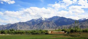 Leh, Ladakh, India. Beautiful scenic view in Leh, Ladakh, India Royalty Free Stock Photography