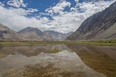 Leh Ladakh, India. Leh Ladakh with lake, India Royalty Free Stock Photography