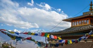 Leh Ladakh, la India Foto de archivo