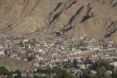 Leh in Ladakh - la zona lontana del Norther dell'India Fotografia Stock Libera da Diritti
