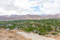 Leh Ladakh stad Arkivfoton
