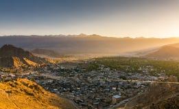 Leh Lakdh krajobraz Zdjęcia Royalty Free