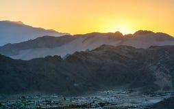 Leh Lakdh krajobraz Obraz Royalty Free