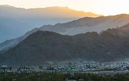 Leh Lakdh krajobraz Obrazy Royalty Free