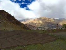 Leh-Landschaft Lizenzfreies Stockfoto