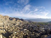 Leh miasta widok Zdjęcia Royalty Free