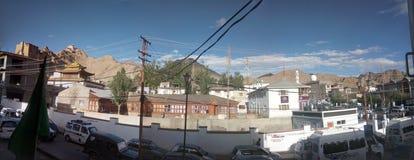 Leh miasto ladhakh Zdjęcia Royalty Free