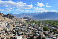 Leh old city Royalty Free Stock Photo