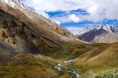Leh område, Indien Arkivfoton