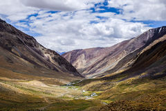 Leh område, Indien Arkivbilder