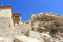 Leh pałac W Ladakh Obrazy Stock