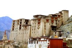 Leh palace. Beautiful shot of famous leh palace in leh city india stock photography