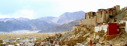 Leh palace Royalty Free Stock Photos
