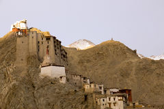Leh Palace on the hill Royalty Free Stock Image