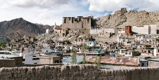 Leh Palace - Ladakh - India Royalty Free Stock Photography