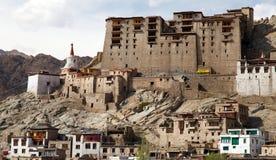 Leh Palace - Ladakh - Jammu and Kashmir Royalty Free Stock Images