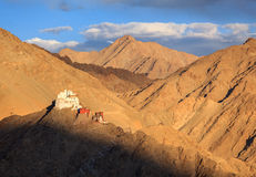 Leh Palace, Leh Ladakh, Jammu and Kashmir, India Stock Image
