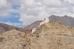Leh palace and mountain, Ladakh, India Royalty Free Stock Image