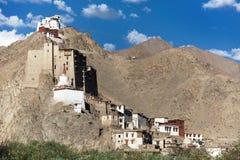 Leh Palace - Namgyal Tsemo Gompa - Leh - Ladakh Stock Images