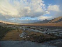 Leh, rivière zanskar Photos stock