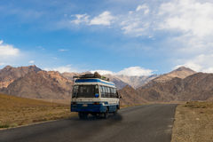 Leh road to Lamayuru Royalty Free Stock Images