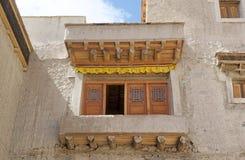 Leh slott, Indien Royaltyfria Bilder