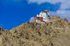 Leh slott Ladakh Indien Royaltyfri Bild