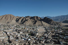 Leh from the top of the hill Royalty Free Stock Image