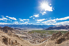 Leh town Royalty Free Stock Photos