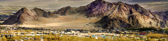 Leh valley Royalty Free Stock Photo
